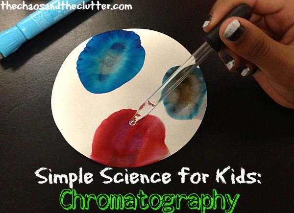 Easy Science for Kids - Chromatography