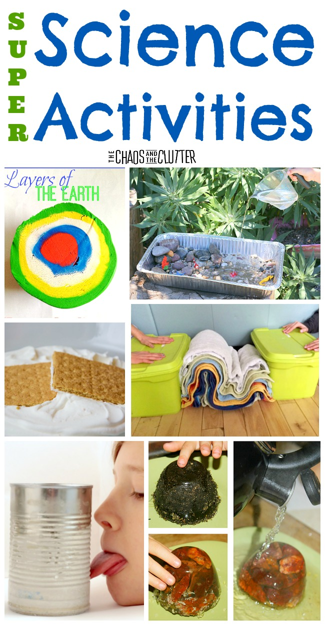 Super Science Activities to do with kids with inexpensive items