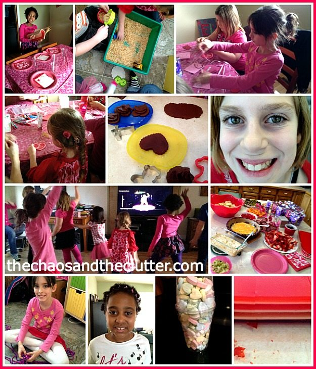 Valentine's Party Collage