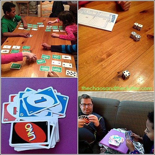 a day of board game play