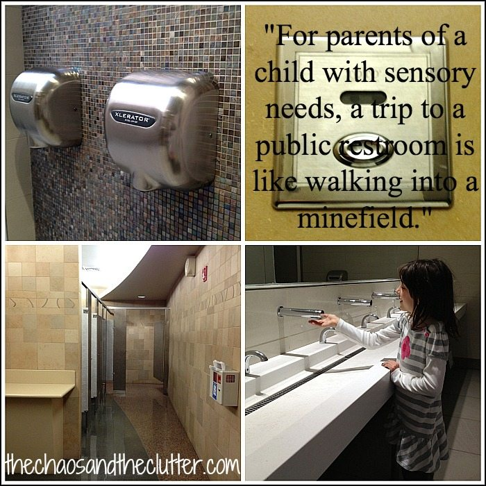 public bathroom tips for children with sensory issues