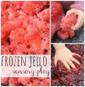 frozen jello science changes of matter