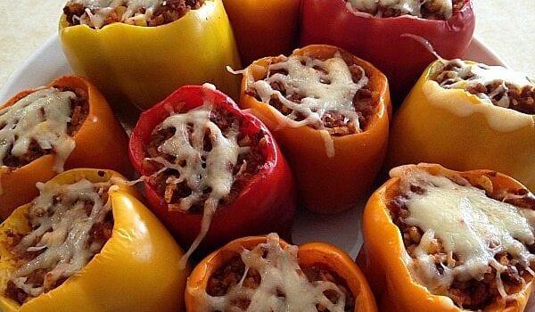 Gluten Free Stuffed Peppers