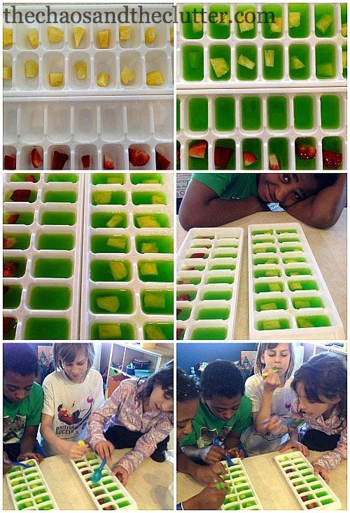 jello setting science experiment