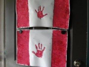 canada day flag craft