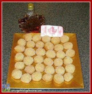 Maple Syrop Cookies