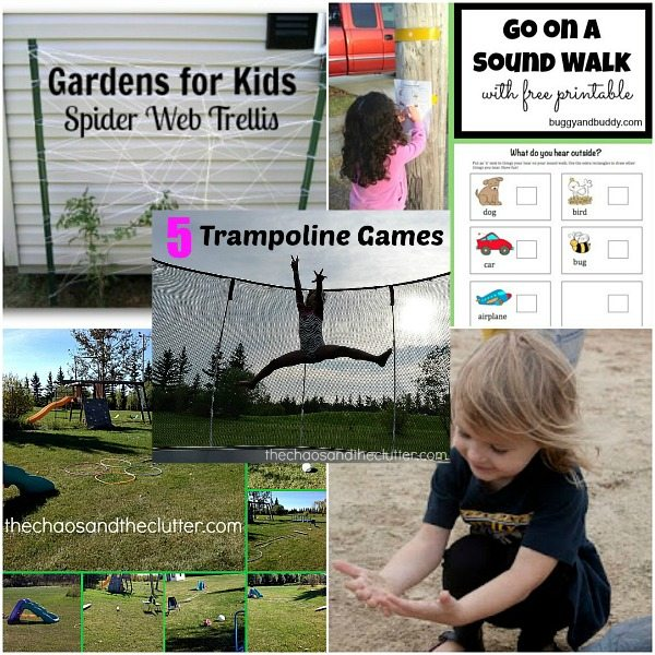 Outdoor Gross Motor Sensory Activities