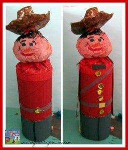 RCMP toilet roll craft
