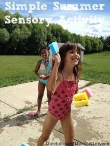 Simple Summer Sensory Activity