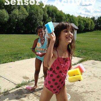 Simple Summer Sensory Activity