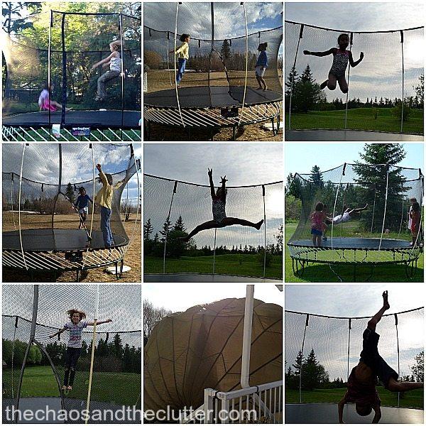 trampoline fun