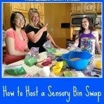 How to Host a Sensory Bin Swap
