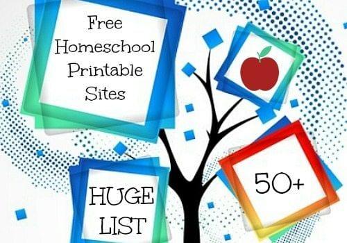 Huge List of Free Homeschool Deals