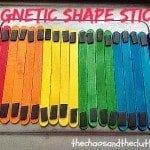 Magnetic Shape Sticks Busy Bag