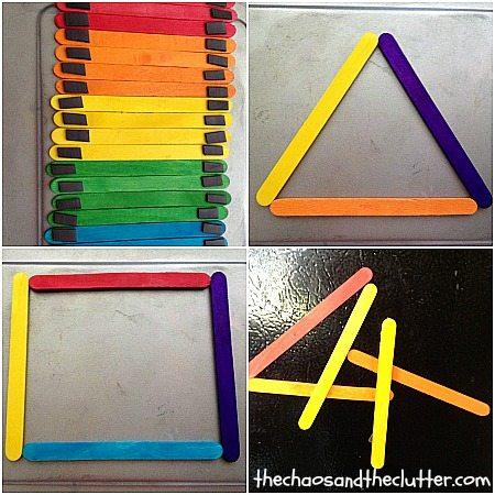 Magnetic Shape Sticks
