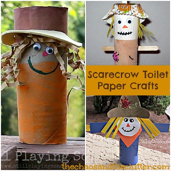 Scarecrow Toilet Paper Crafts
