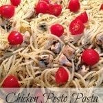 Chicken Pesto Pasta - easy, last minute meal