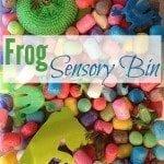 Frog Sensory Bin