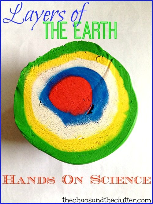 Layers of the Earth Hands on Science Activity