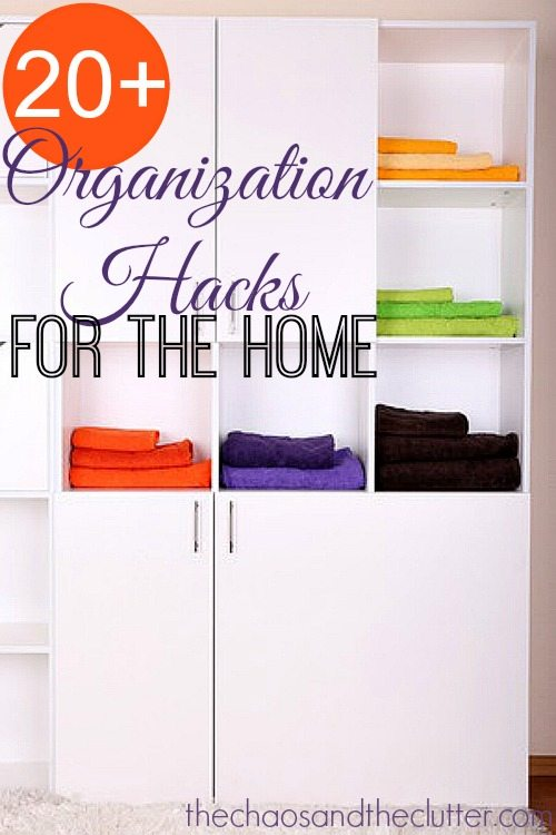 More than 20 Organization Hacks for the Home