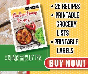 Chicken Dump Recipes ad