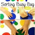 Felt Color Sorting Busy Bag