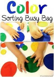 Felt Color Sorting Busy Bag