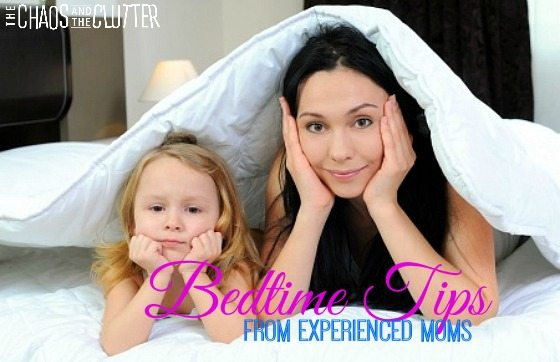 Bedtime Tips from Experienced Moms