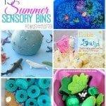 15 Summer Sensory Bins