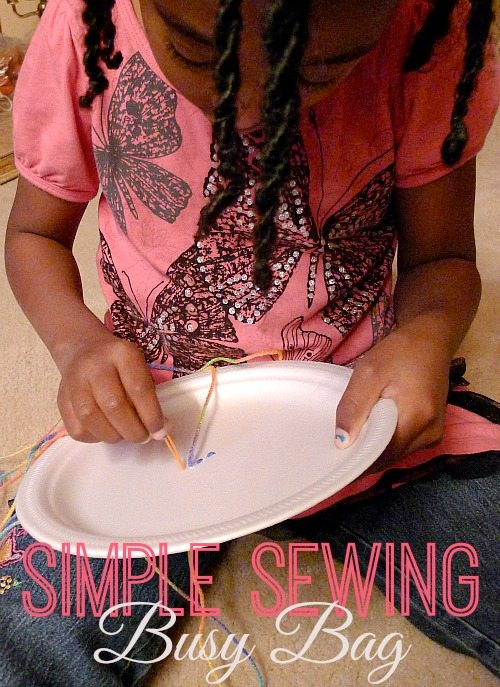 Simple Sewing Busy Bag