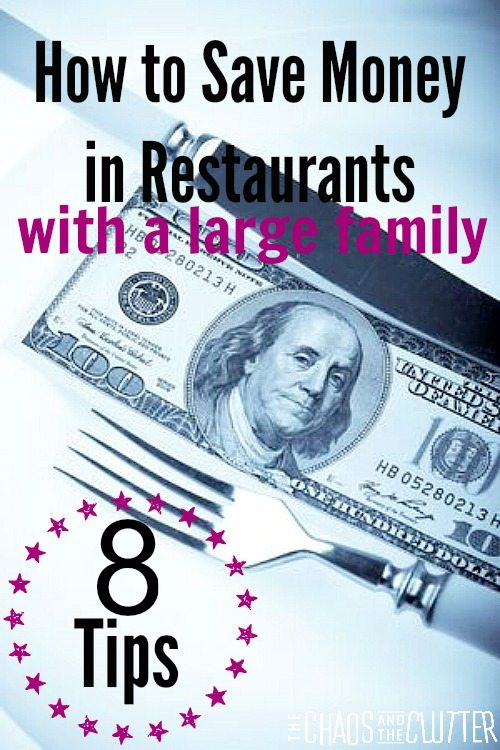 8 great ways to be able to afford to take the whole family to a restaurant. It includes some you may not have thought of.