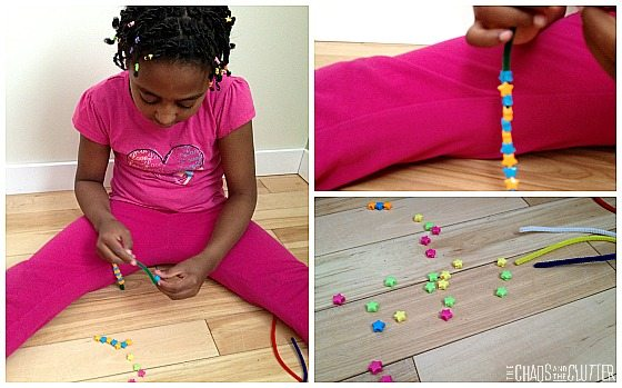 Patterning with Beads Busy Bag