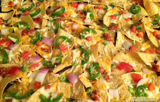 easy vacation nachos