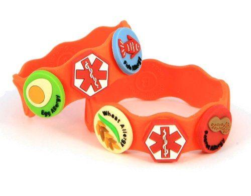 kid friendly Medic alert bracelet for food allergies