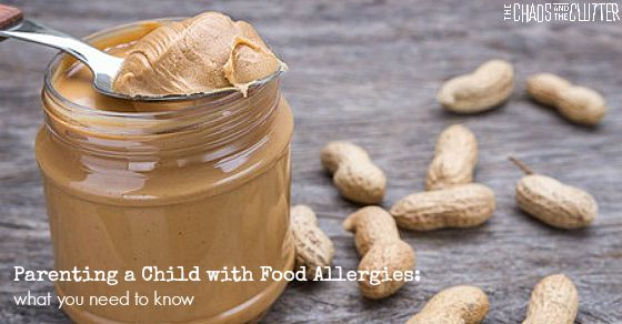 Parenting a Child with Food Allergies - what you need to know