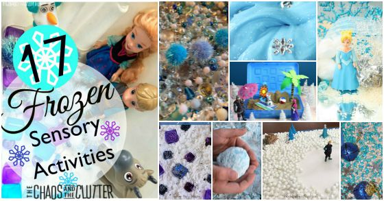 17 Fun Sensory Activities that are Frozen-inspired!