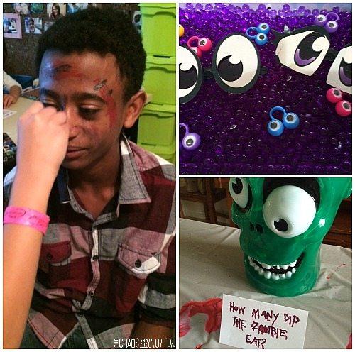 Zombie Party Activities