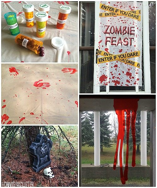 Zombie Party Decorations
