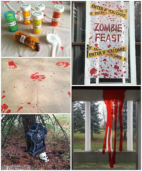 zombie party decorations - Zombie Decorations
