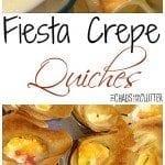 Fiesta Crepe Quiches - a unique breakfast idea