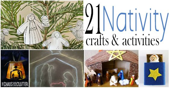 Nativity Crafts and Activities to celebrate the season of Christmas