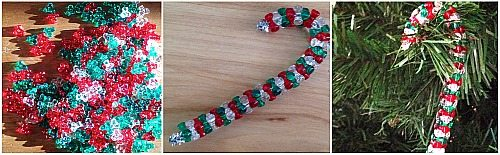 pipe cleaner candy canes