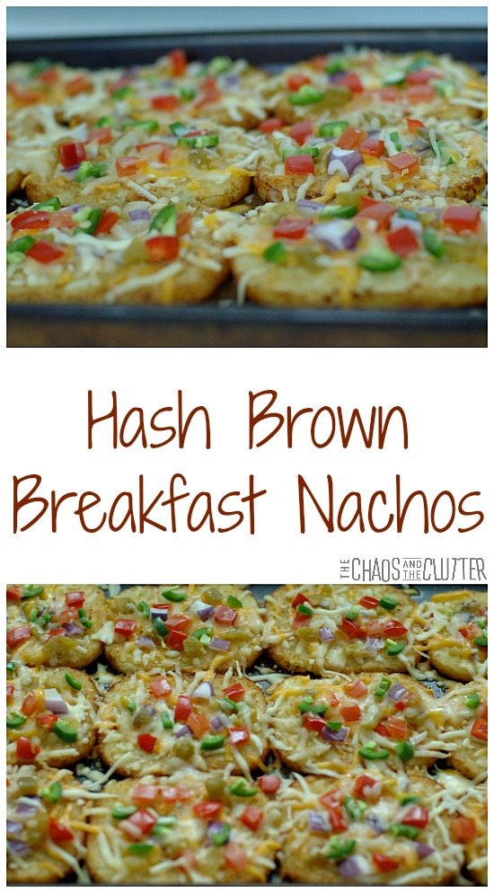 Hash Brown Breakfast Nachos - these are awesome!