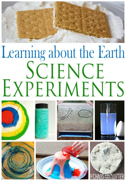 These science experiments make learning about the Earth interesting and fun.