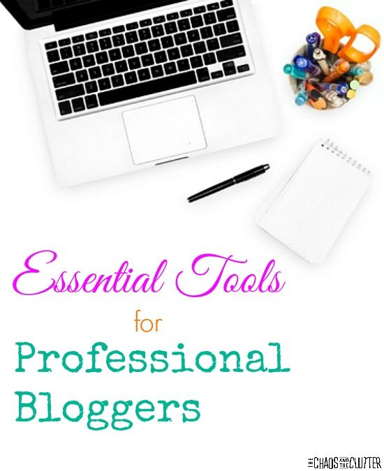 Earning a living as a professional blogger takes hard work but there are some essential tools that sure can make the job a lot easier. This is a great list!