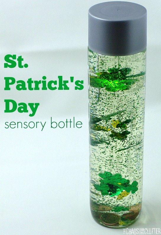 St  Patrick's Day Sensory Bottle