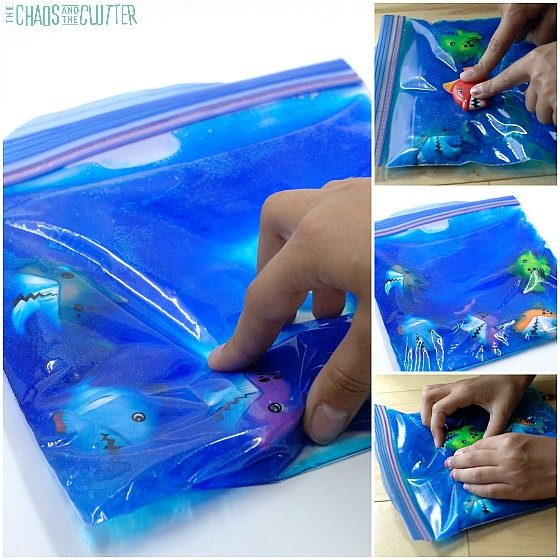 Shark Sensory Bag square