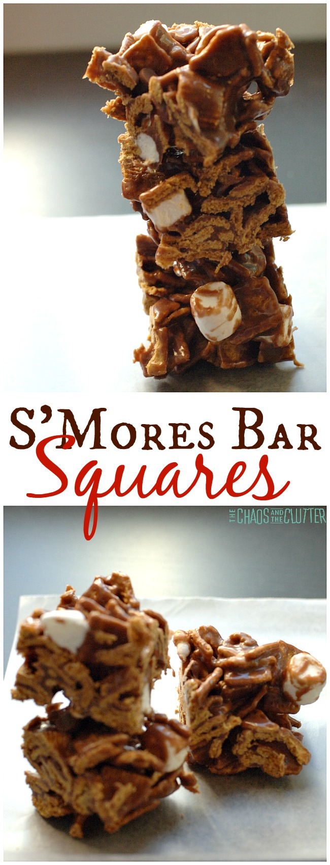 With these S'mores bar squares, you can bring the taste of camping to any day.