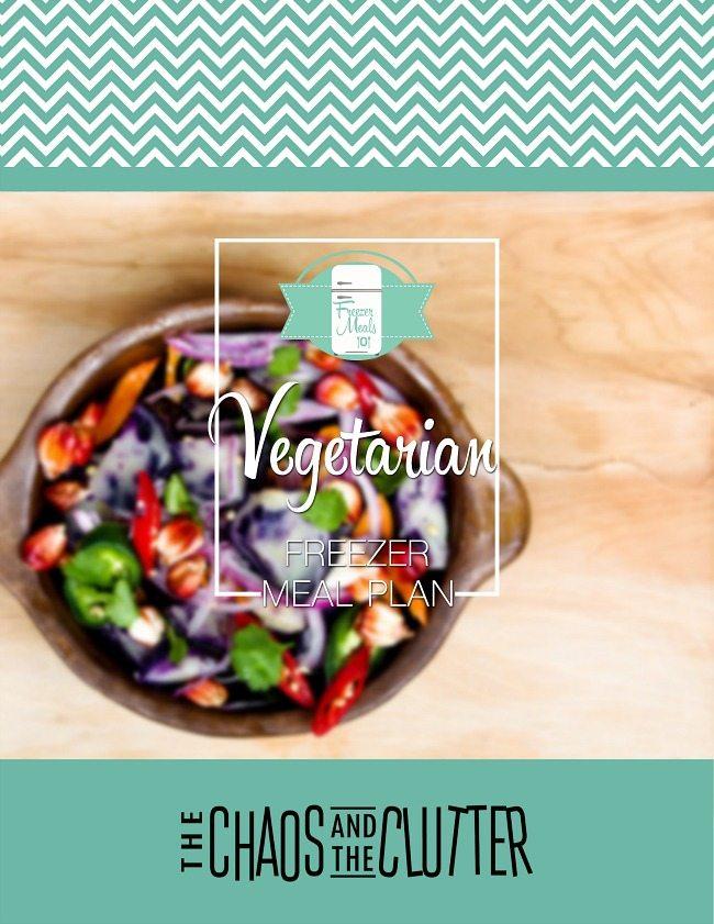 Vegetarian Freezer Meal Plan