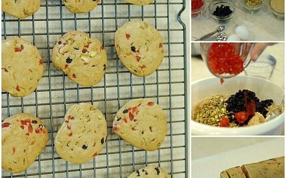 These Christmas ice box cookies made a wonderful homemade holiday gift.